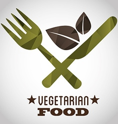 Vegetarian food vector