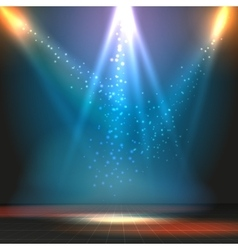 Show or dance floor background with vector