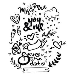 Love Words vector image