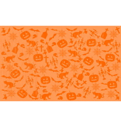 Scratched halloween background vector