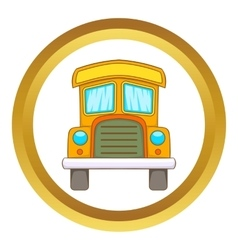 Toy truck icon vector