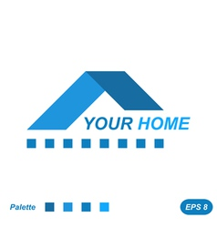 Your home logo concept vector