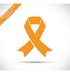 multiple sclerosis awareness vector image