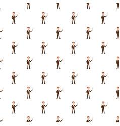 teacher pattern vector image