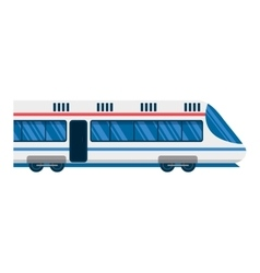 City railway subway transport vector