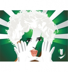 Crowd goes wild nigeria vector