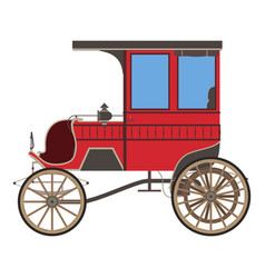 Carriage horse cinderella princess silhouette vector