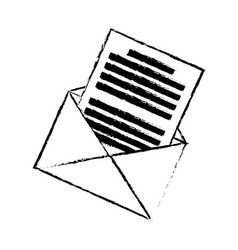 Email envelope message communication web icon vector