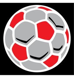 Soccerball vector image