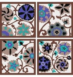 background flowers vector image
