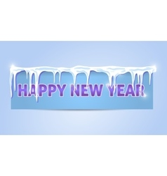 Greeting card happy new year 2016 vector