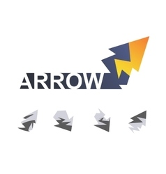 Arrow like lightning vector