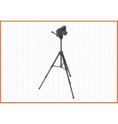 tripod isometric flat 3d vector image