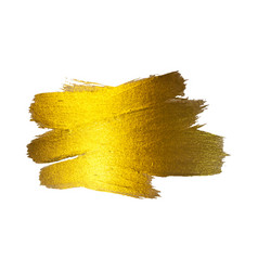 gold foil watercolor texture vector image