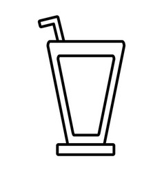 Soda drink icon vector