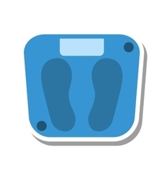 Balance measure weight isolated icon vector