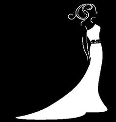 Bride vector