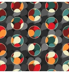 Abstract polka dots background vector