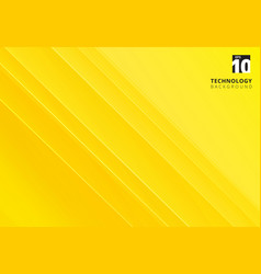 abstract yellow image that depicts technology vector image vector image