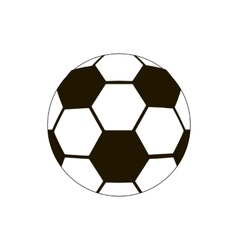 Football ball icon isometric 3d style vector image