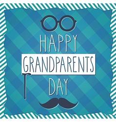 Grandparents poster vector image