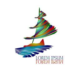 Sail Ship Logo3 vector image