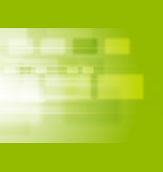 green vibrant tech background with squares vector image