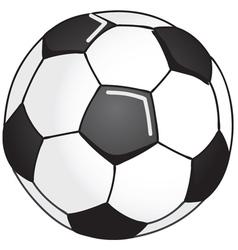 Soccerball vector