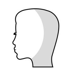 silhouette mother woman image vector image