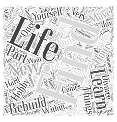 Find a new hobby word cloud concept vector