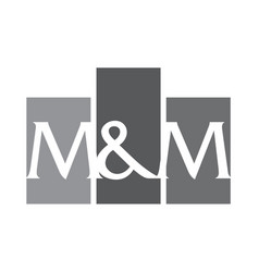 modern logo solution letter l n vector image vector image