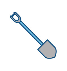 Shovel tool construction vector