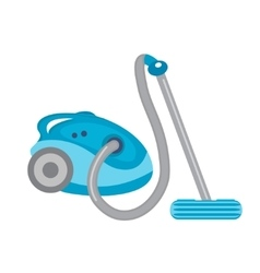 Vacuum cleaner icon flat style isolated on vector