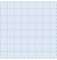 Graph paper grid background vector