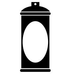 Spray can icon vector