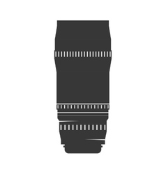 Camera lens icon gadget design graphic vector