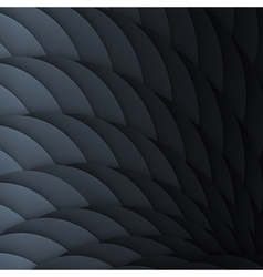 Black scales Abstract geometric background with vector image