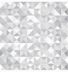 grey triangle abstract background vector image vector image