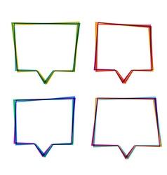 Line frames vector image