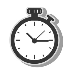 Timer clock time icon vector