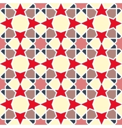 Arabesque pattern seamless traditional vector
