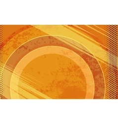 Comic Book Orange Grunge Background vector image vector image