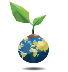 ECO FRIENDLY Ecology concept vector image vector image