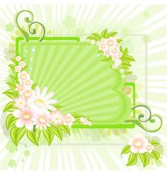 Spring splash vector image vector image