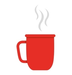 Cup coffee isolated icon design vector