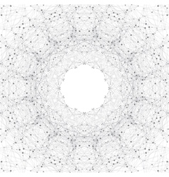 Geometric gray background molecule and vector