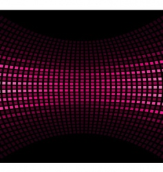 pink black vector image vector image