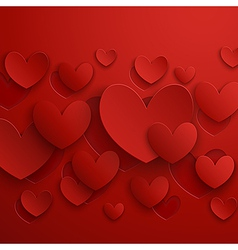 valentine abstract red vector image vector image