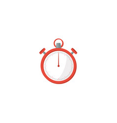 flat stopwatch element of vector image