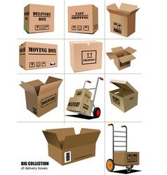 al 0906 boxes vector image